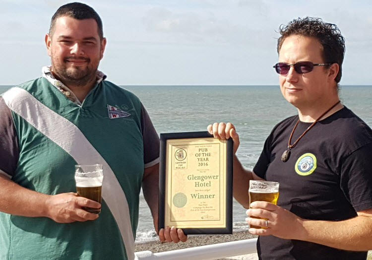 Glengower and the CAMRA Award